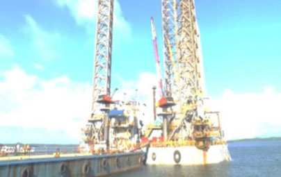 Raniworo Jack Up Rig Repair